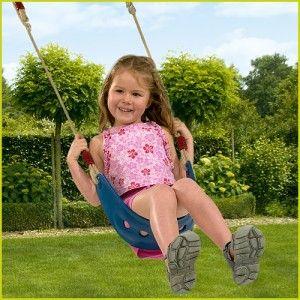 Blue Rabbit Wrap Around Swing Seat - Wooden Climbing Frames for Kids : Wooden Climbing Frames for children