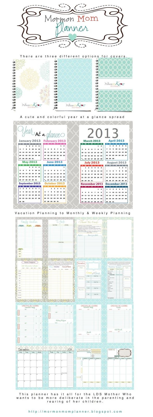 17 Best images about Mormon Mom Planner on Pinterest | Mom ...