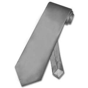 boy's silk gray ties   ... 100 % silk solid charcoal grey neck tie men s gray necktie discount