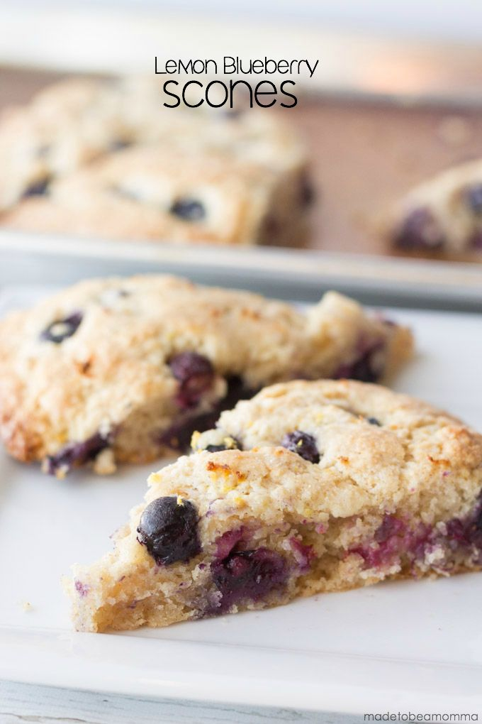 These Lemon Blueberry Scones are the perfect breakfast treat. Pair it with a cup of hot tea or coffee and you are good to go!