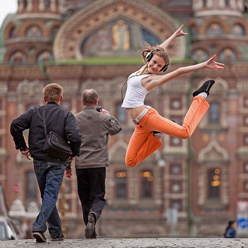 Photo by Vitaly Sokolovsky from his Dance Petersburg project.