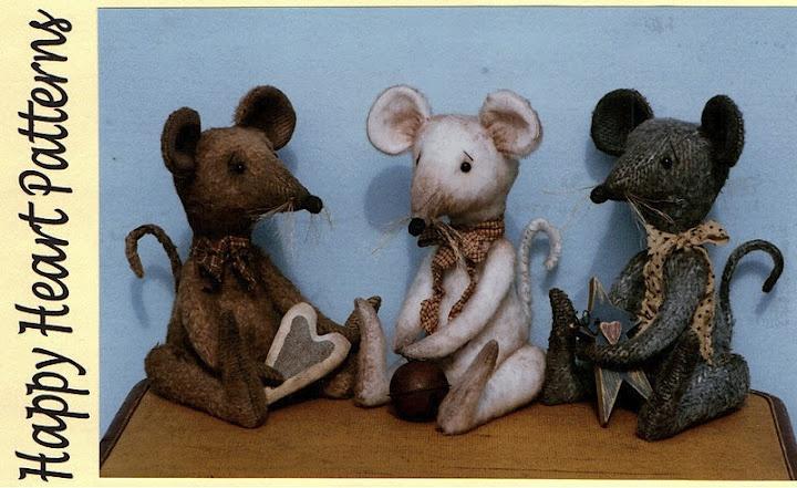 souris: Heart Patterns, Animals, Teddy Bears, Happy Heart, Patterns E Patterns