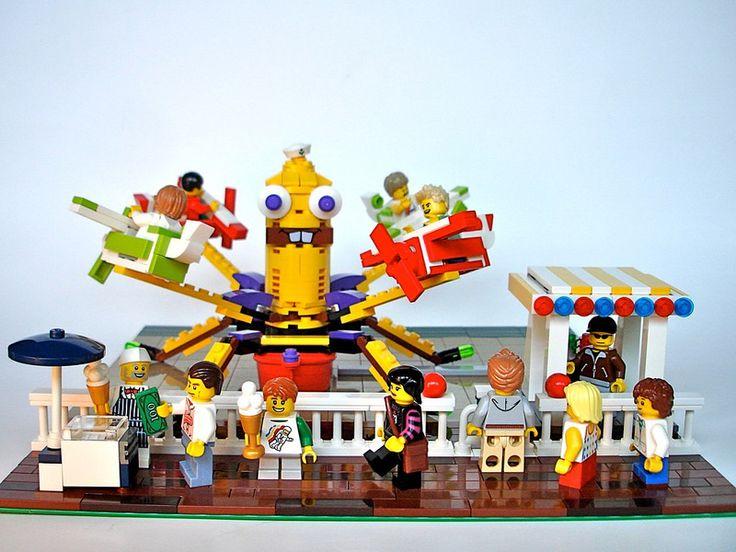 142 best parc attraction lego images on Pinterest   Lego, Legos ...