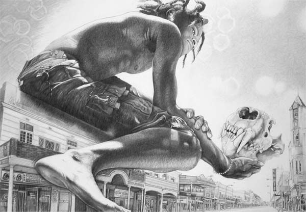 Pencil Sketching Artistry By Creative Director Clause-Steffen