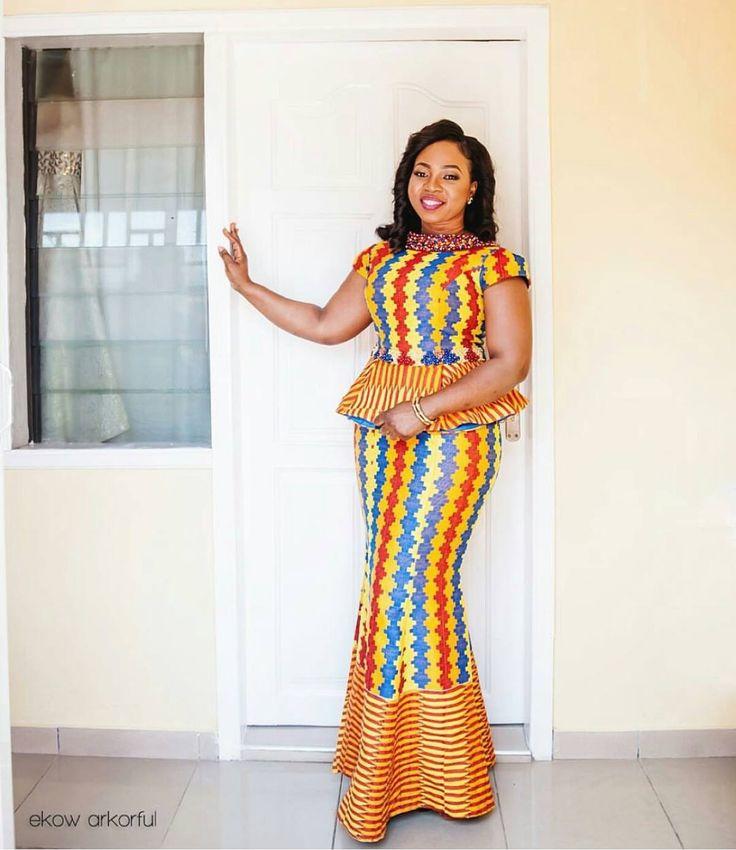 Ghana most beautiful dress styles
