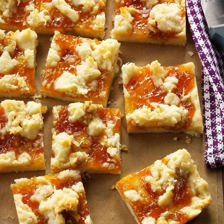 ... Apricot Bars on Pinterest | Apricot Tart, Apricot Pie and Cookies