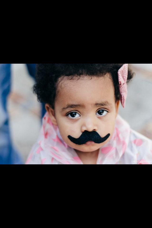 Everyone loves a moustache