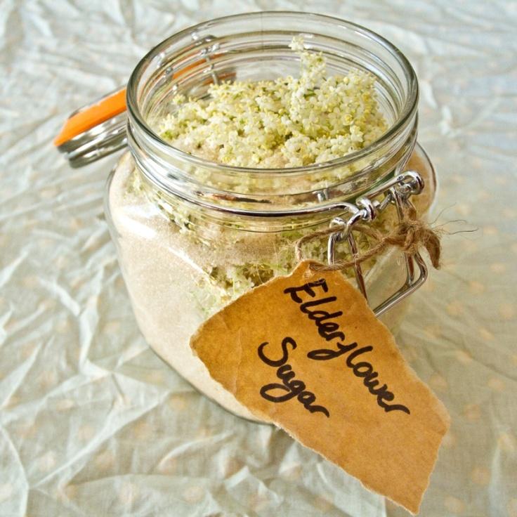 Elderflower Sugar