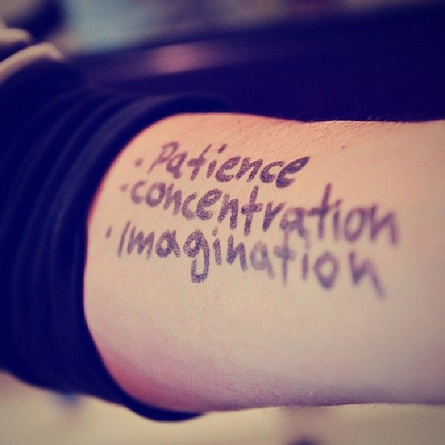 #patience #concentration #imagination #idea99 See all backstage at http://instagram.com/idea_ninetynine