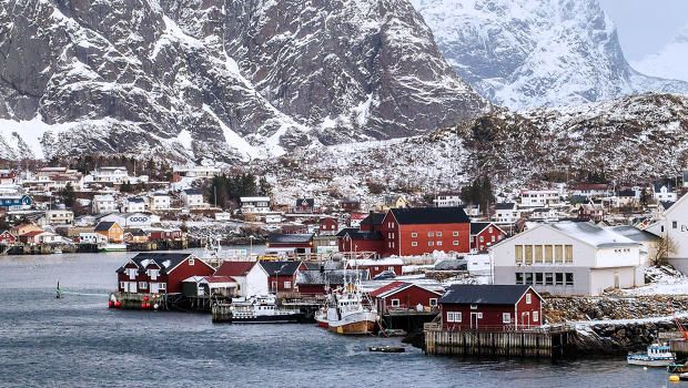 Residents of Norway view their long dark winters as something to celebrate. How it's possible to be cheerful for the next four months.