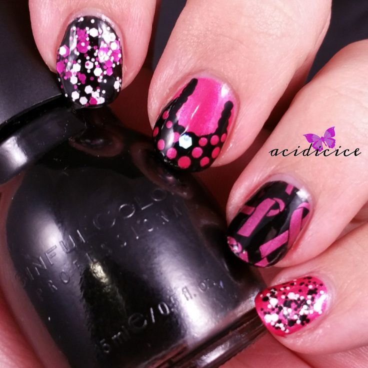16 Best Nail Art Nails For A Cause Images On Pinterest