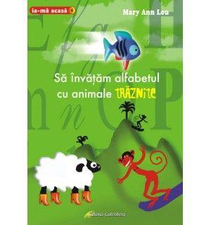 Să învăţăm alfabetul cu animale trăznite