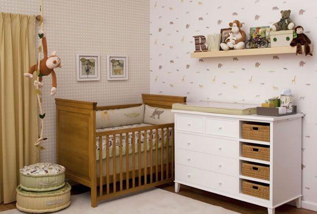 Mesmo em apartamentos relativamente grandes, os quartos ainda assim tendem a ser pequenos. Menos é mais na décor para bebês! Vamos para mais dicas?