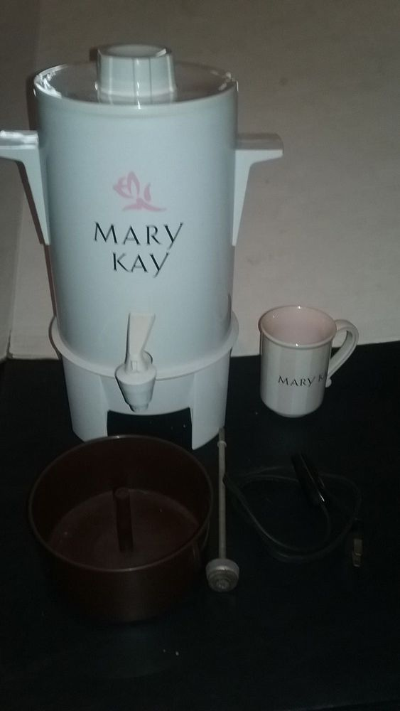 Mary Kay Perculator Electric Coffee Maker with Cup Great Display Item #unbranded