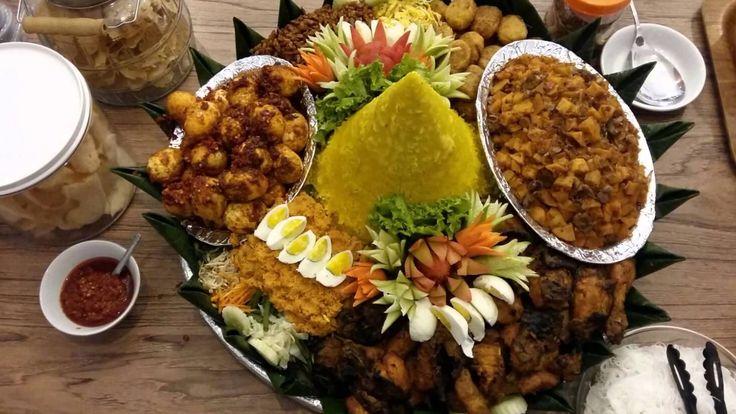 Pesanan Nasi Tumpeng Ibu Monica Di Cilandak Jakarta Selatan