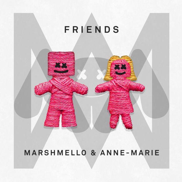 Friends Single By Marshmello Anne Marie On Apple Music Mejores Portadas De Discos álbumes De Música Portadas De Musica