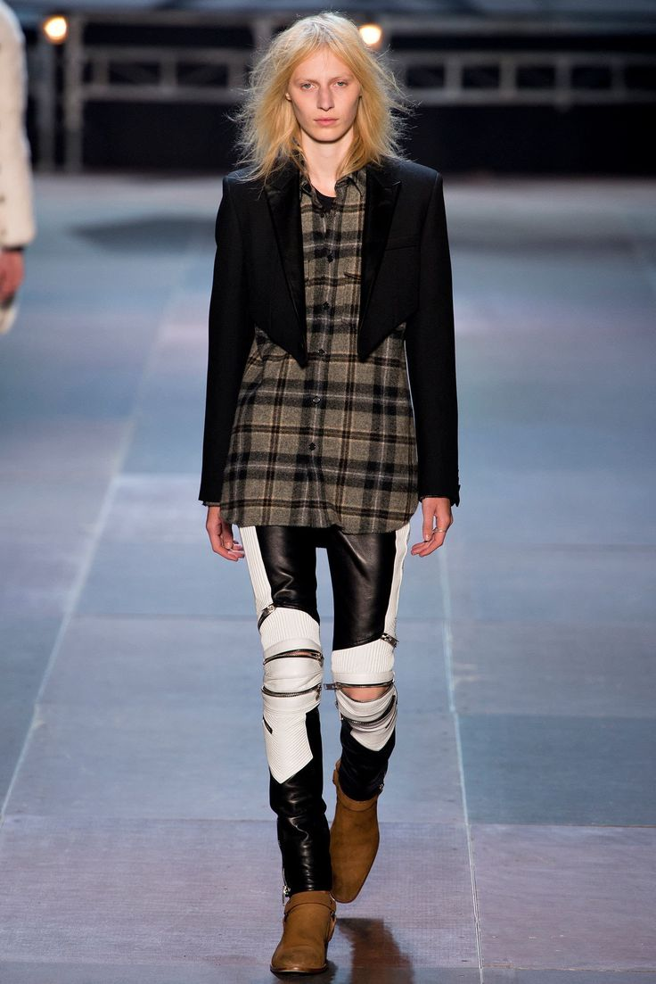 Saint Laurent Fall 2013 Menswear Collection Photos   Vogue