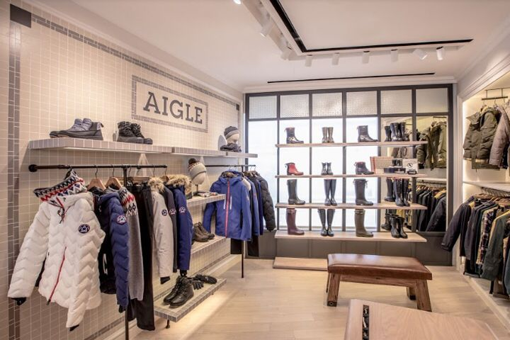 AIGLE opens all-new Concept Store at ifcMall, Hong Kong