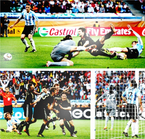 Arne Friedrich's goal against Argentina in World Cup 2010