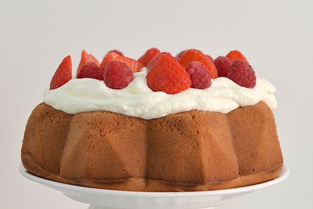 Birthday Angel Food Cake -