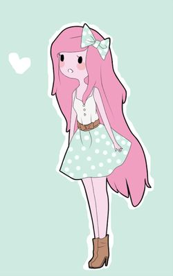 Princess Bubblegum Adventure time fashion