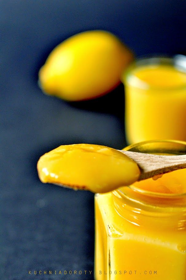 lemon curd, krem cytrynowy