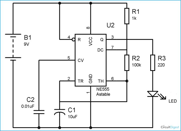 63 best 555 timer circuits images on pinterest