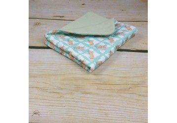 Baby Blanket Funny Bunny - 100%ORGANIC COTTON - Naturissimi
