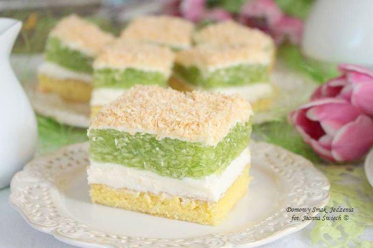 delikatne ciasto trociniak – idealne na przyjęcie komunijne | Domowy Smak Jedzenia .pl