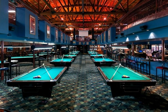 I Could Hang Out In This Pool Hall A While Amazing