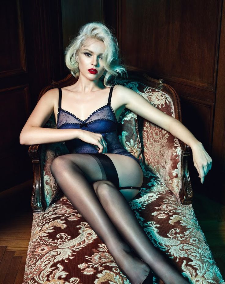 Palmers by Lena Hoschek Lingerie Collection ~ Photo by Hilde van Mars Please don't remove the credits ♥