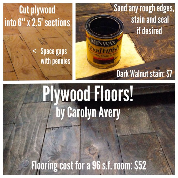 Plywood floors i installed in my 8x12 cabin such a cheap for Cheap wood flooring ideas