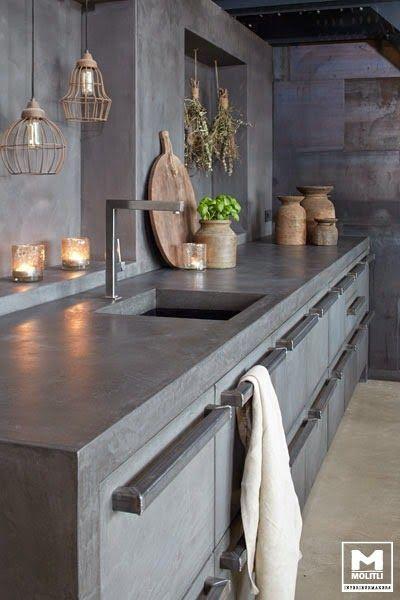 Woonblog my industrial interior: Hoe richt ik mijn keuken industrieel in? Enkele praktische tips...