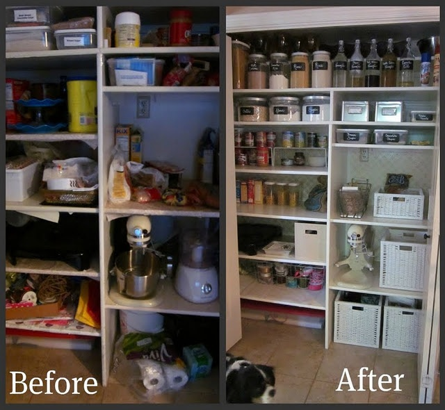 Organized Pantry And Pantry Tips: 48 Best Images About Before & After Organizing On