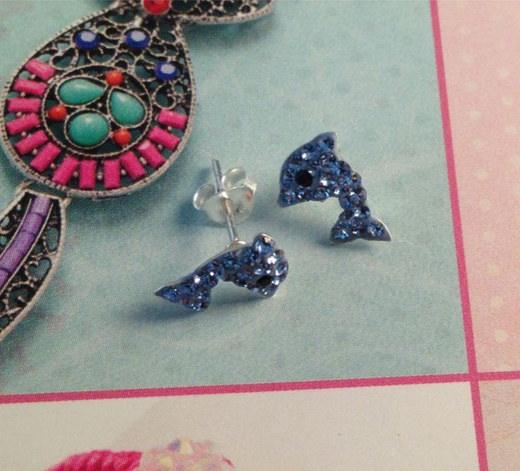 Dolphin Earrings, £7.99