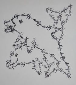 Kwak, kwak, kwak, ... Dit is een korte, maar leuke lijn-oefening. De leerlingen moeten een dier tekenen dat ze zelf hebben gekozen met...