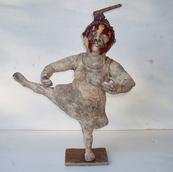 Bloody Mary, ceramic sculpture Michaela Stejskalova