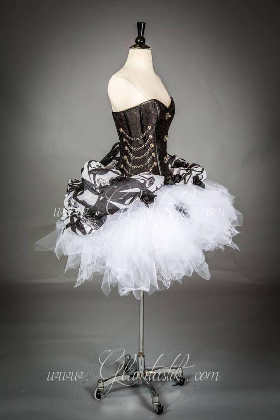 Zombie di dimensioni medie Jack Skellington corsetto vestito