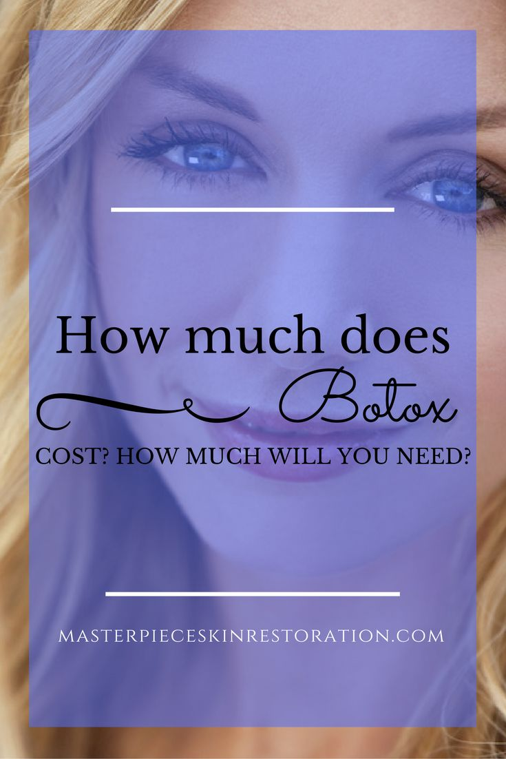 Botox cost, Botox pricing, Units needed, Botulinum toxin, med spa, Fort Collins