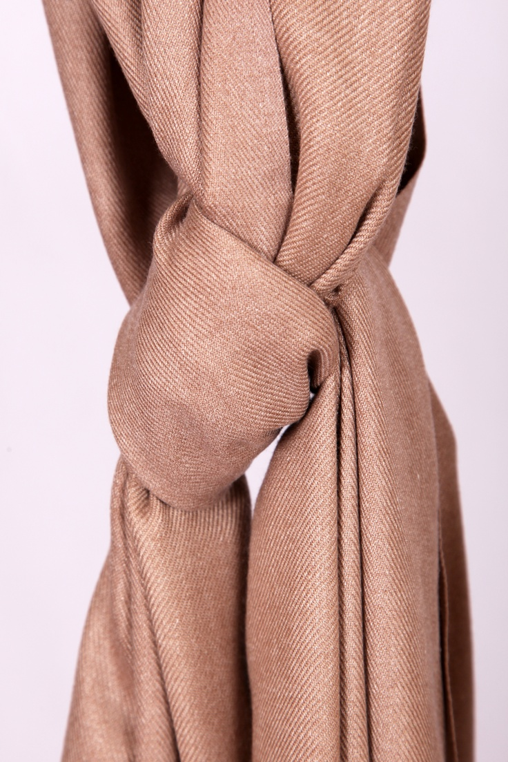 Taupe Pashmina 90% cashmere for £35  www.hurtleys.com