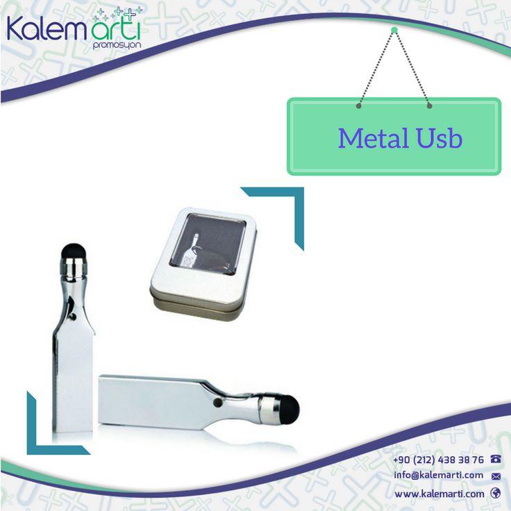 Bu Metal Usb'ler tam da size göre! http://www.kalemarti.com/usb-bellekler-3673-metal-usb.html
