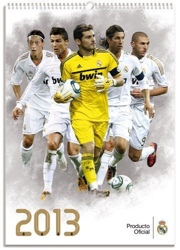 Real Madrid - Official Team Calendar 2013 by GE. $10.75. Treat yourself and your favorite Real Madrid fans to this brad new 2013 Calendar.  High quality, 12 months of 2013, featuring Casillas, Ronlado and all major Galacticos !  The perfect gift item !