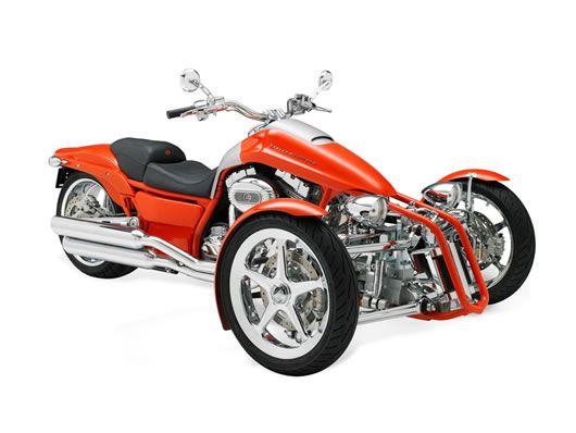 Harley Davidson Penster reverse tilting trike