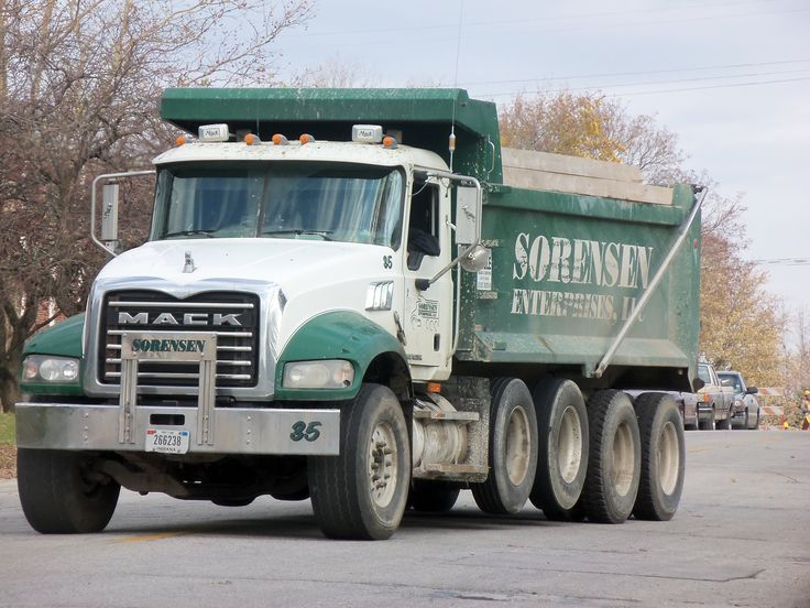 Backing up north of Montgomery St | Trucks | Pinterest | Trucks, Dump trucks and Granite