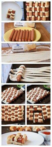 Salsicha Torta