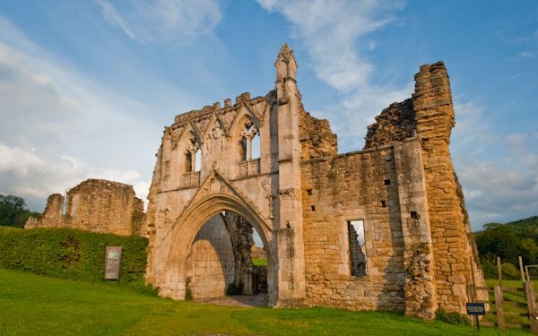 The Dissolution of the Monasteries.  Kirkham Priory, Yorkshire