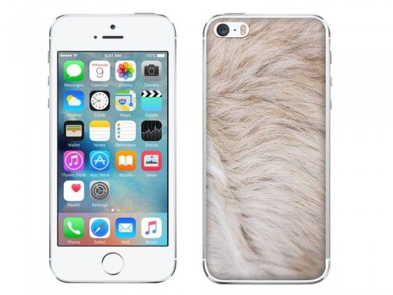 Jasne futerko na etui do telefonu ? sweet fluffy fur on phone case #case #style #fashion #fur #fluffy
