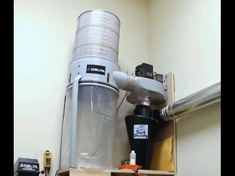 35 - Upgraded Dust Collector with Super Dust Deputy