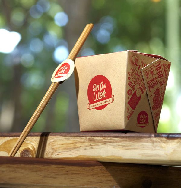 On the Wok is an Asian fast food concept restaurant in Caracas, Venezuela focused on noodles to take away.