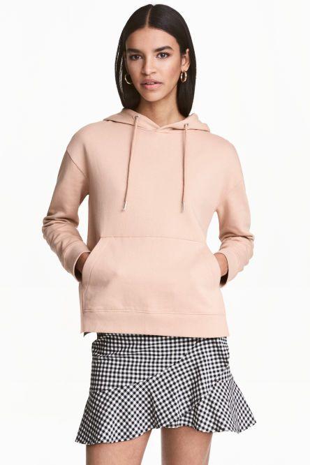 Hooded top